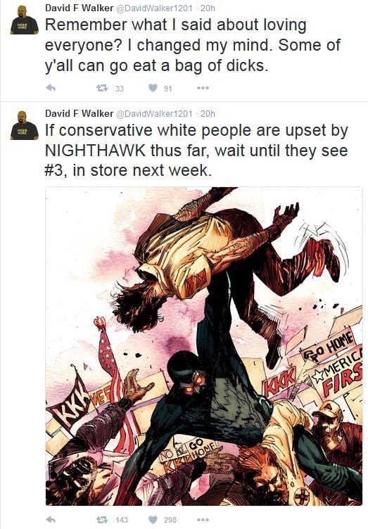 David Walker racism